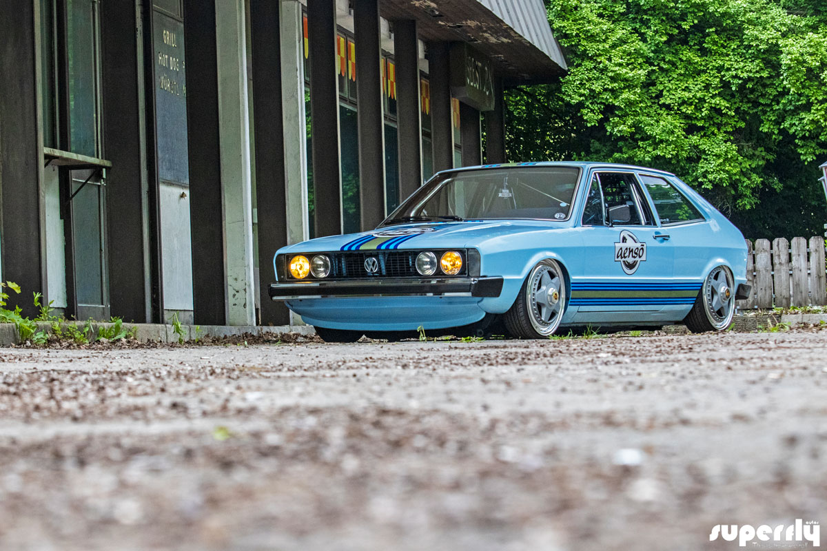 Race Inspired Mk2 Vw Scirocco From Germany